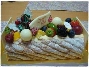 23日のケーキ