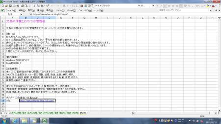 文鳥の体重とおやつの管理表3
