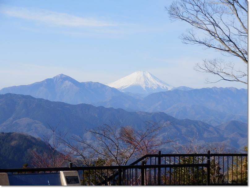 高尾山~陣馬山1
