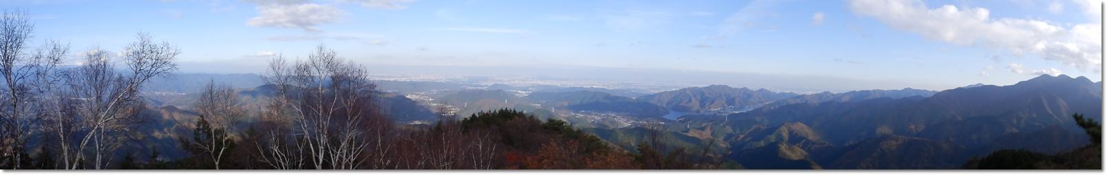 焼山からの展望