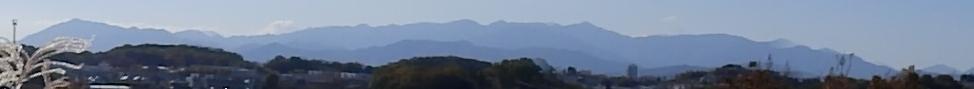 丹沢の山並み2
