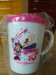 ミニーちゃんのカップ