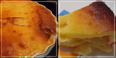 page―アップルケーキ