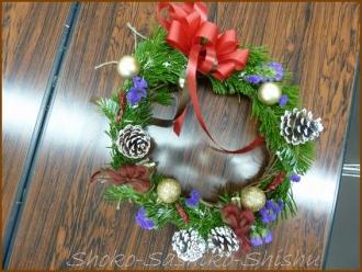 20131128 作品 3 クリスマスリース