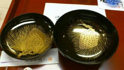 神田川輪島漆器椀