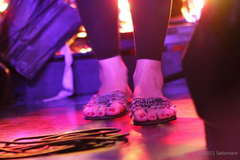 A Diva's foot