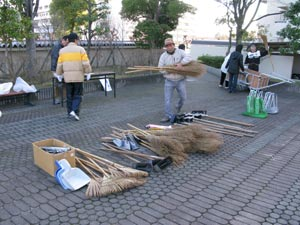 2-清掃用具の準備