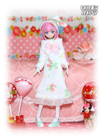 1/12DOLL 【パジャマ】 武装神姫、MMS、figma