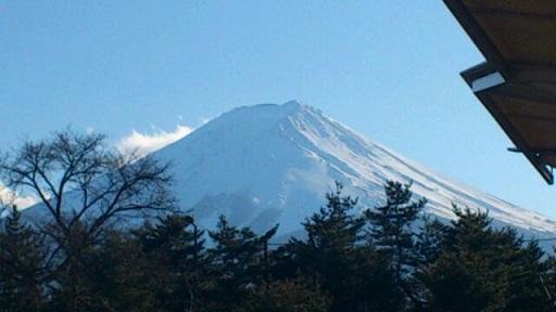 18日の富士