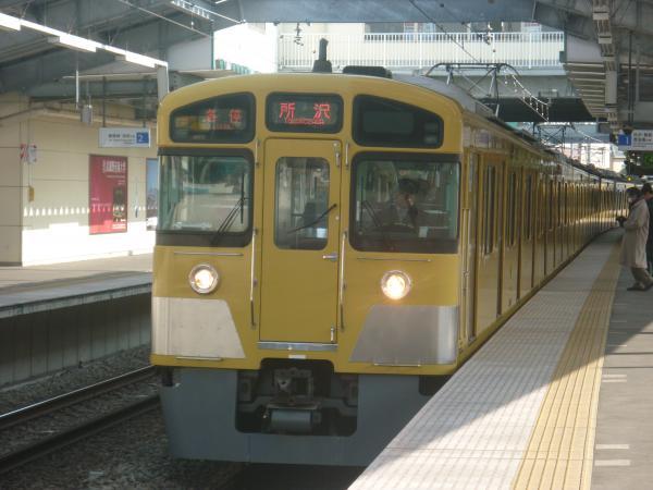 2014-02-01 西武2085F 各停所沢行き1