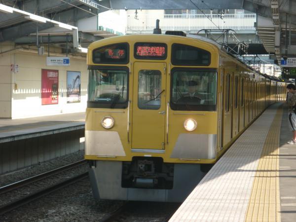 2014-02-01 西武2097F 各停西武球場前行き1