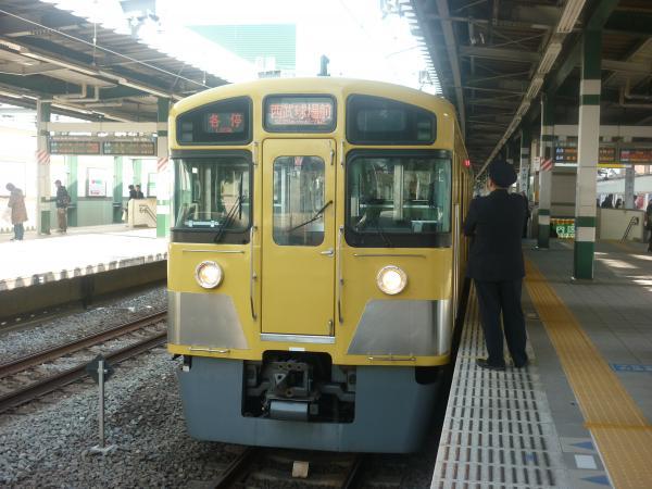 2014-02-01 西武2097F 各停西武球場前行き2