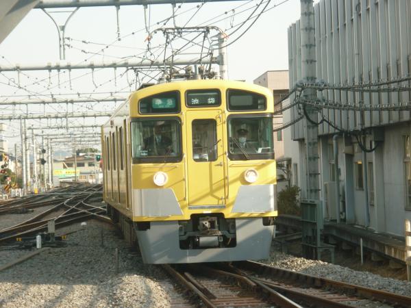 2014-02-01 西武2463F+2503F+2501F 方向幕回転中