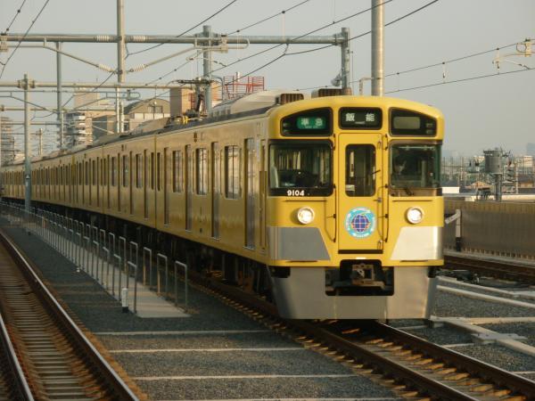 2014-02-01 西武9104F 準急飯能行き2