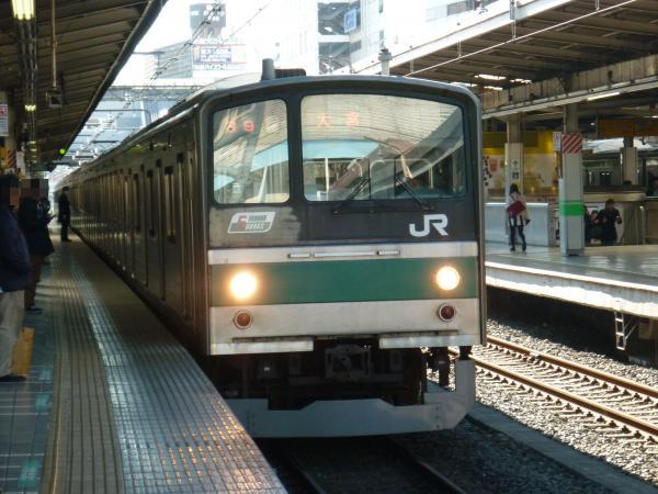 2013-12-29 埼京線205系ハエ18編成 大宮行き1