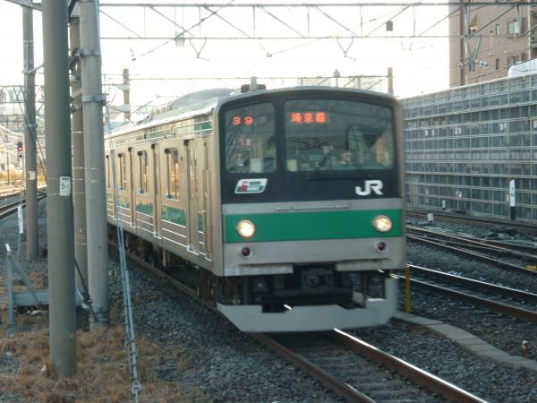 2013-12-29 埼京線205系ハエ18編成 大宮行き5