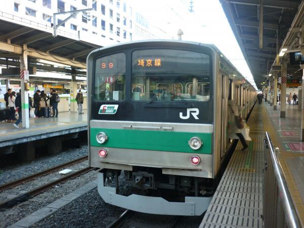 2013-12-29 埼京線205系ハエ18編成 大宮行き6