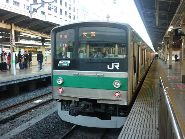 2013-12-29 埼京線205系ハエ18編成 大宮行き7