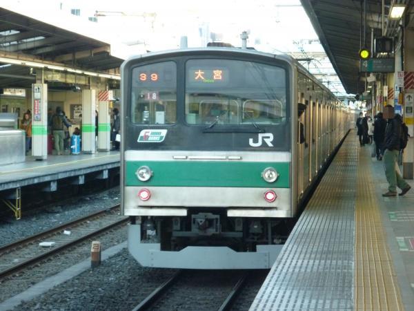 2013-12-29 埼京線205系ハエ18編成 大宮行き8
