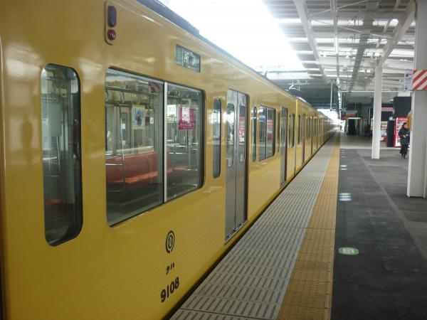 2014-02-11 西武9108F 準急所沢行き 側面写真3