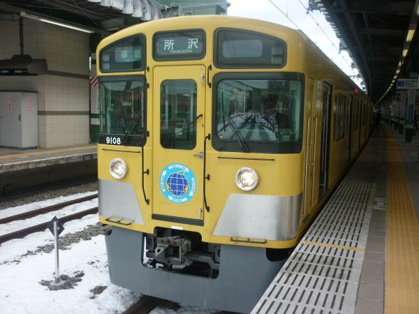 2014-02-11 西武9108F 準急所沢行き2
