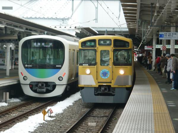 2014-02-11 西武9108F 準急池袋行き1