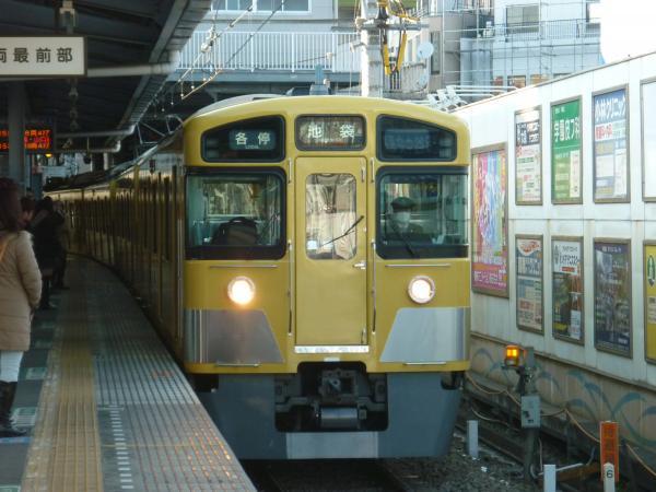 2014-02-16 西武2063F 各停池袋行き1