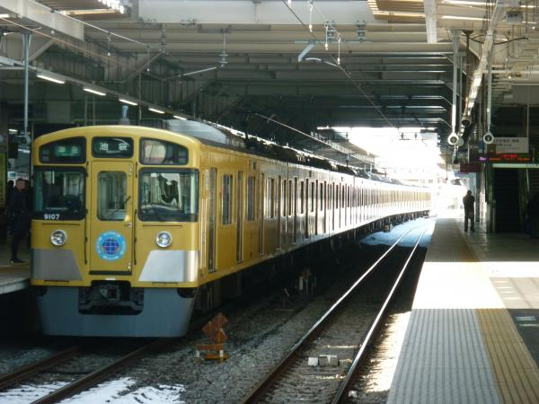2014-02-16 西武9107F 準急池袋行き2