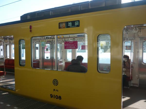 2014-02-16 西武9108F 急行池袋行き 側面写真
