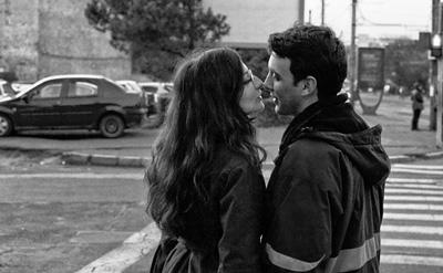 kiss,street,street,photogra