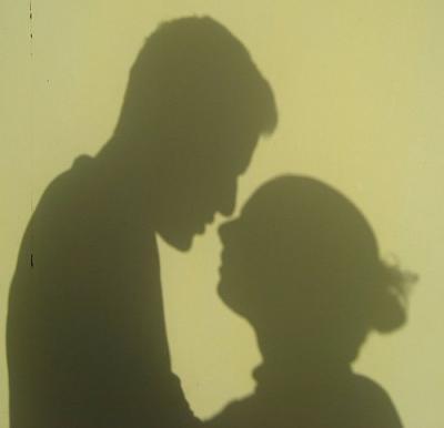 男女の影 に対する画像結果