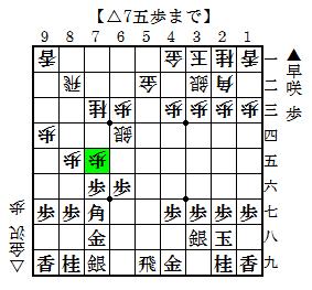 早咲アマ-金沢四段 1
