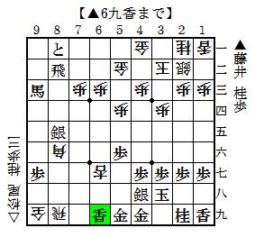 第70期B級1組▲藤井-△松尾 3
