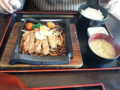 薩摩ごかもん 九州うまかもんランチ 紅豚のレモンステーキ御膳-1