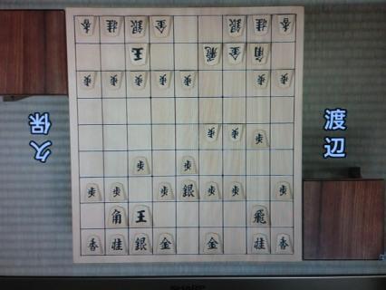 第61回NHK杯テレビ将棋トーナメント渡辺竜王-久保二冠-1