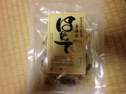 青森県産ほたて炊き込みご飯の素  岩木屋-1