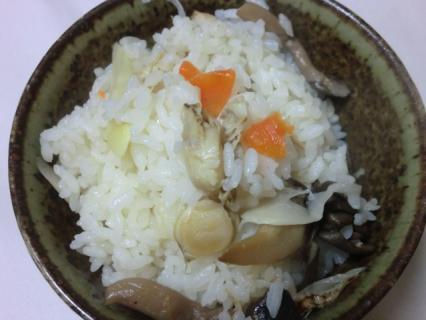 青森県産ほたて炊き込みご飯の素  岩木屋-2