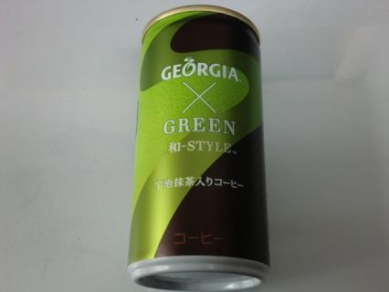 ジョージア×グリーン 和-スタイル 宇治抹茶入りコーヒー 1