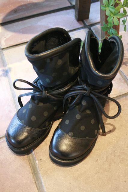 水玉ブーツ
