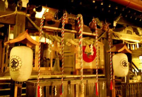 2013初詣金蛇水神社7拝殿