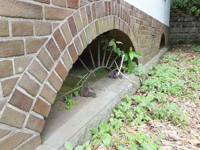 観音崎火薬庫床下煉瓦アーチ