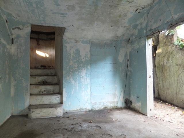 階段があるよ