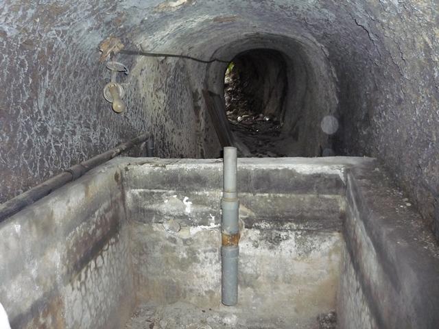 火工工場地下壕