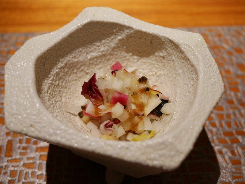 蛸と旬野菜のサラダ