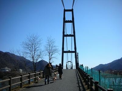 水の郷大吊り橋