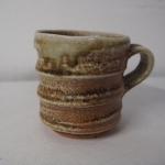 コーヒーカップ-2 信楽土焼き締め