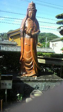 7番札所 長福寺の観音様