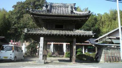 8番札所 長寿寺の鐘楼