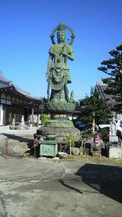 9番札所 正法寺の観音様