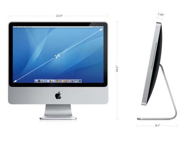 24-inch aluminum iMac